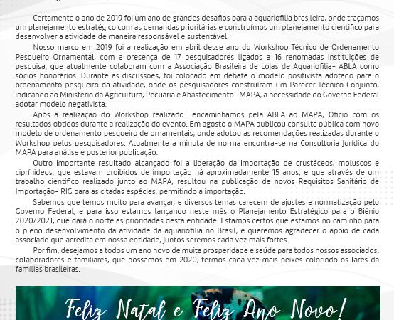 Edição nº45 – 27 de Dezembro de 2019